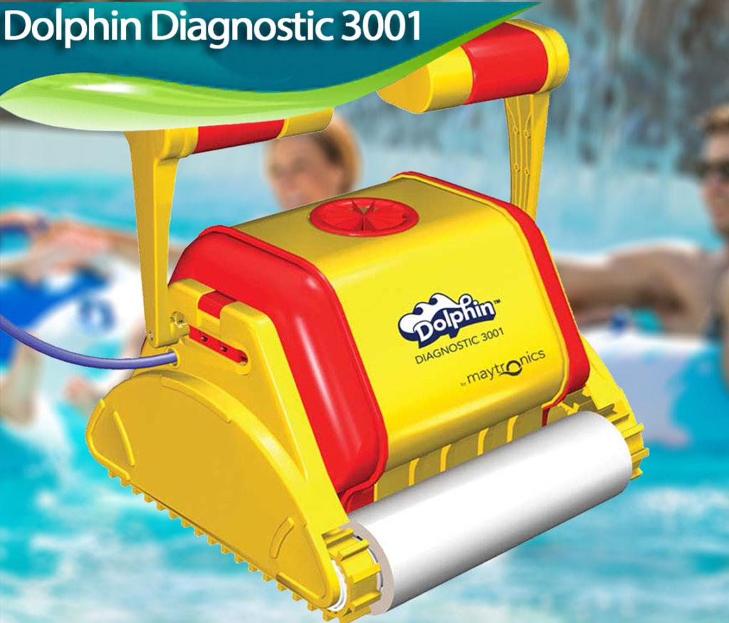 Dolphin Diagnostic 3001 Review Best Robotic Pool Cleaners